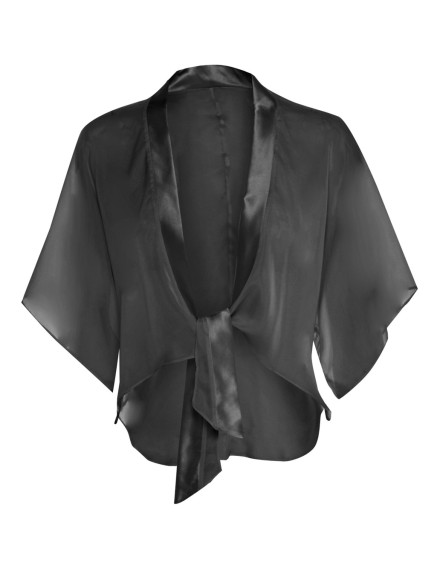 Silk and Chiffon Bed Jacket