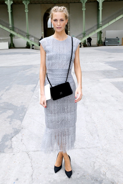 Chanel  : Front Row - Paris Fashion Week : Haute Couture Fall/Winter 2014-2015