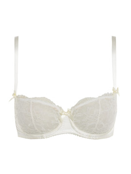 Signature Leavers Lace Balcony Bra