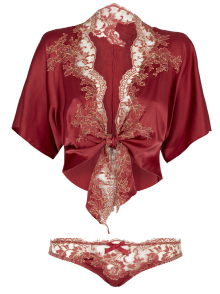 Maison De Grande Luxe Bed Jacket and Knicker